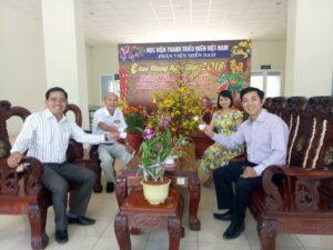 Gặp mặt cán bộ nhân viên phía Nam cơ quan Trung ương Đoàn xuân Mậu Tuất 2018