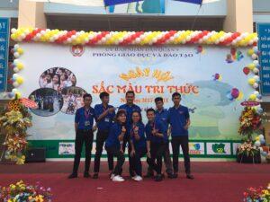 Sinh viên ngành Công tác Thanh thiếu niên, Khóa 5 (2016-2020) thực tập, thực tế Công tác Thiếu nhi