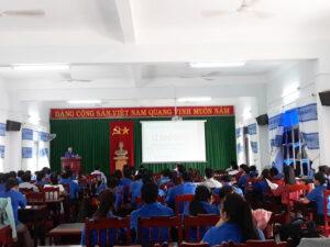Khai giảng lớp Bồi dưỡng kiến thức nghiệp vụ, kỹ năng công tác Đoàn, Hội, Đội tại Ninh Thuận, năm 2018.