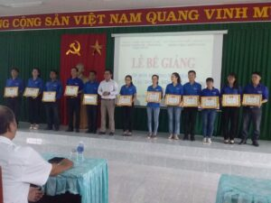 Phân viện miền Nam tổ chức Bế giảng lớp Bồi dưỡng kiến thức nghiệp vụ, kỹ năng công tác Đoàn, Hội, Đội tại Ninh Thuận, năm 2018.