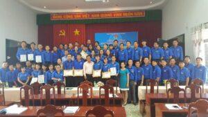 Bế giảng lớp Bồi dưỡng Bí thư Đoàn cấp huyện, khu vực phía Nam năm 2018