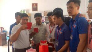 Sinh viên Khóa 5 gặp mặt quý thầy cô giáo nhân dịp đón xuân Kỷ Hợi