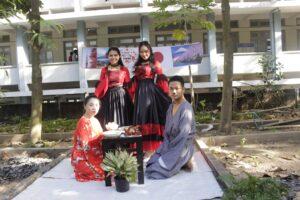 Sinh viên Khóa 7 thi kết thúc môn Tiếng Anh