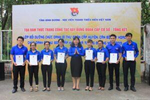 Tổng kết lớp bồi dưỡng chức danh Bí thư Đoàn cấp huyện tại Bình Dương và chức danh Bí thư Đoàn cơ sở xã phường tỉnh Đồng Nai