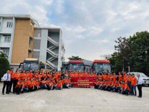 Đoàn học viên lớp Trung cấp lý luận chính trị – hành chính khối cơ quan trung ương đi nghiên cứu thực tế cuối khóa, về nguồn tại Bà Rịa -Vũng Tàu